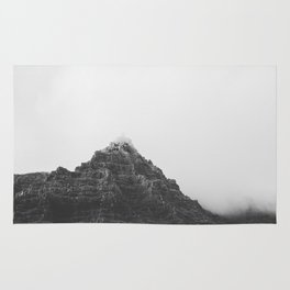 Vik Iceland Mountains Rug