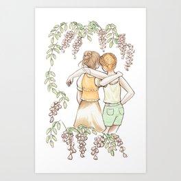 Acacia - Friendship Art Print