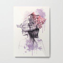 Inside my shell Metal Print