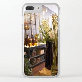 The Florist Shop Clear iPhone Case