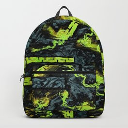 Psyesquivel 01 greenfire Backpack