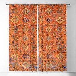 Oriental Vitange Moroccan Rug Design Blackout Curtain
