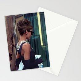 Audrey Hepburn #2 @ Breakfast at Tiffany's Stationery Cards