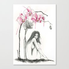 Zodiac - Virgo Canvas Print