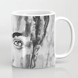 Frida KAHLO Flowers Black and White Coffee Mug