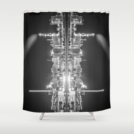 What do you see II Shower Curtain
