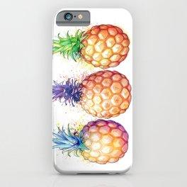 Three Pineapples iPhone Case