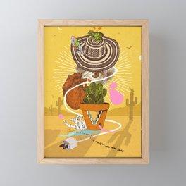 DESERT VISIONS Framed Mini Art Print