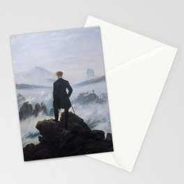 Wanderer Above the Sea of Fog (Friedrich 1818) Stationery Cards