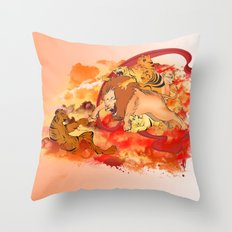 THE CREATION Throw Pillow