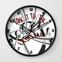 Take It To the Extreme Wall Clock