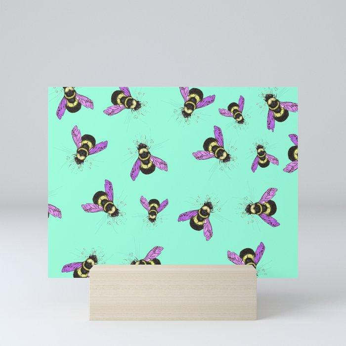 Bee! Mini Art Print