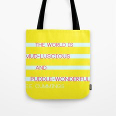 Puddle Wonderful Tote Bag