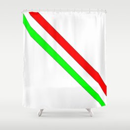 flag of Italia scarf- Italy,Italia,Italian,Latine,Roma,venezia,venice,mediterreanean,Genoa,firenze Shower Curtain