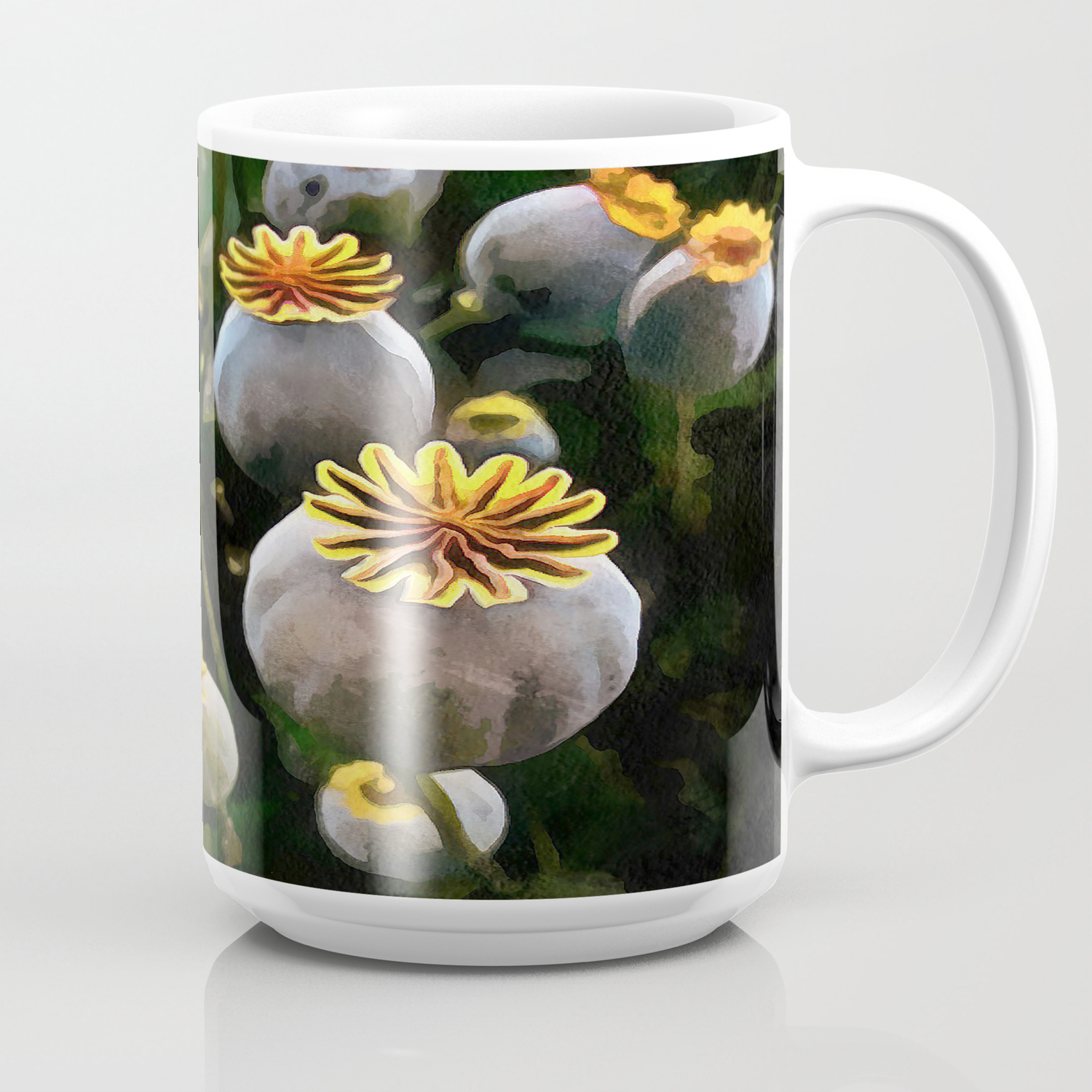 Poppy Seed Pod Coffee Mug By Aaenskacholpanova Society6