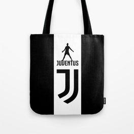 Christiano Ronaldo Juventus Tote Bag
