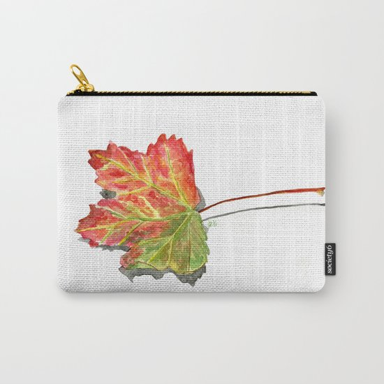 Autumn leaf of maple Carry-All Pouch