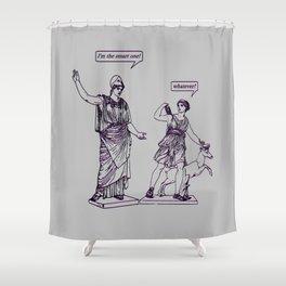GODDESS STATUS 3D Shower Curtain