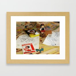 Still Life With Nancy  Framed Art Print