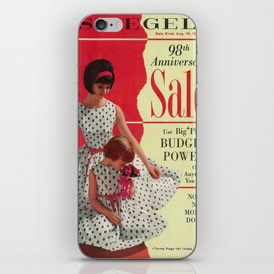 1963 - 98th Anniversary Sale -  Summer Catalog Cover iPhone & iPod Skin