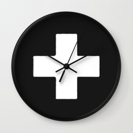 Plus Mark Wall Clock