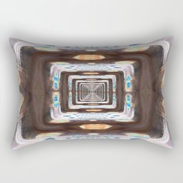 Tunnel of Mirrors Rectangular Pillow