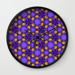 Purple Passion Wall Clock