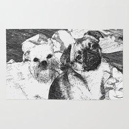 Griffon Bruxellois & Griffon petit brabancon 5 Rug