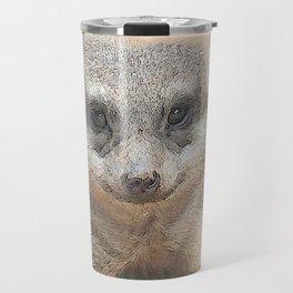 CArt Meerkat Travel Mug