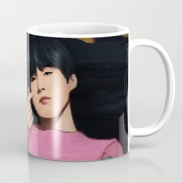 BTS SUGA SPRING DAY FANART Coffee Mug