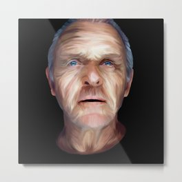 Anthony Hopkins Metal Print