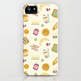 Who else loves breakfast? iPhone Case