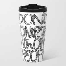 Compete With Yourself Travel Mug