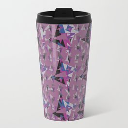Geometric abstract 55 Travel Mug