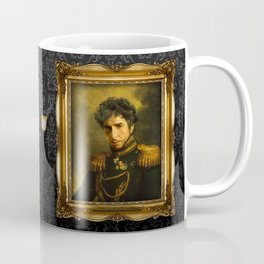 Bob Dylan - replaceface Coffee Mug