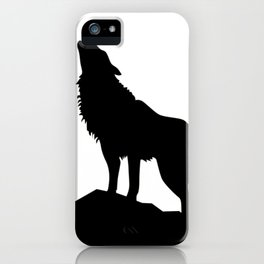 Wolf howling! iPhone Case