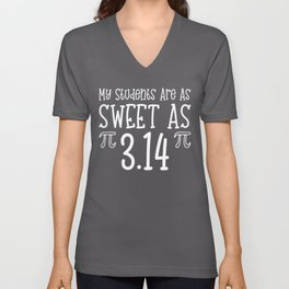 My Students Are As Sweet As Pi - Pi Day product Unisex V-Neck