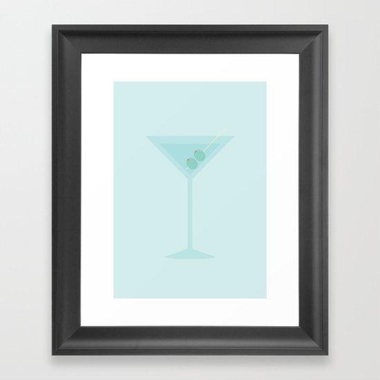 #47 Martini Framed Art Print