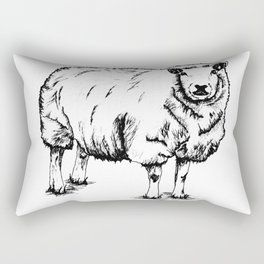 Sheep Sheep. Rectangular Pillow