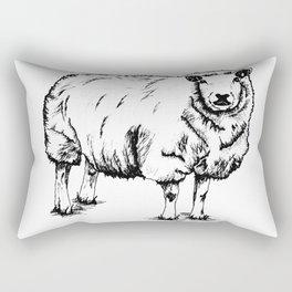 Sheep Sheep. Rectangular Pillow