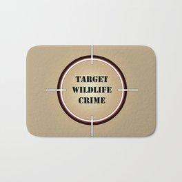 Target Wildlife Crime Bath Mat