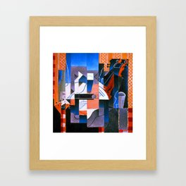 Juan Gris Violin and Guitar Framed Art Print