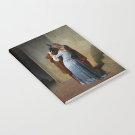 The Kiss (Il Bacio) - Francesco Hayez 1859 Notebook