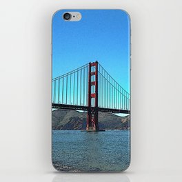 San Francisco Golden Gate iPhone Skin