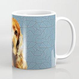 Cocker Spaniel Polygonal Art Coffee Mug