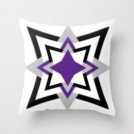 Ace Geometric Pattern Throw Pillow