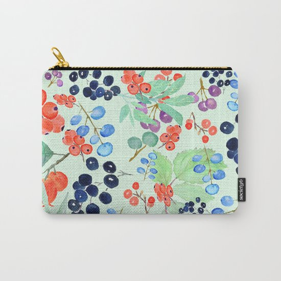 joyful berries Carry-All Pouch