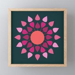 MCM Hydrangea Framed Mini Art Print