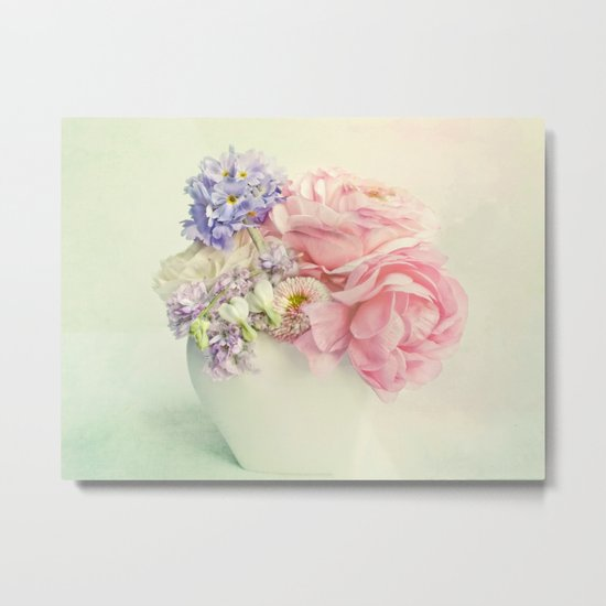 tiny spring bouquet Metal Print