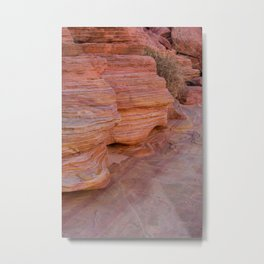 Colorful Sandstone, Valley of Fire - II Metal Print